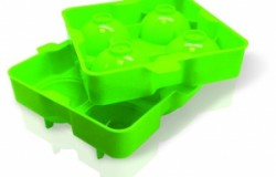 Форма для льда в виде шара (зеленая)